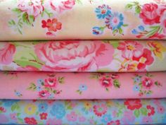 Shabby Chic Yellow Floral Fat Quarter Bundle,,,,Want, but out of stock.