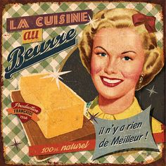 """If someone says you used too much butter or cheese on something, stop talking to them. You don't need that kind of negativity."" - By Bruno Pozzo. Vintage Tin Signs, Vintage Labels, Vintage Cards, Vintage Paper, Vintage Postcards, Decoupage Vintage, Shabby Vintage, Retro Vintage, Vintage Style"