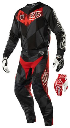 Troy Lee Designs - 2015 SE Pro Checkers Jersey, Pant Combo