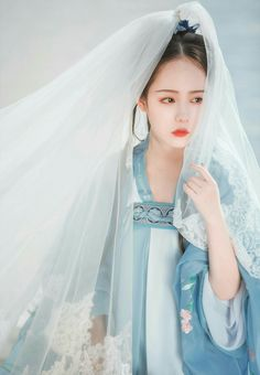 Nguyệt Hy Nhi not-free-save Asian Style, Chinese Style, Oriental Fashion, Oriental Style, Chinese Traditional Costume, Dress Drawing, Korean Dress, Chinese Clothing, Hanfu