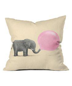Elephant / Jumbo Bubble Gum Pillow