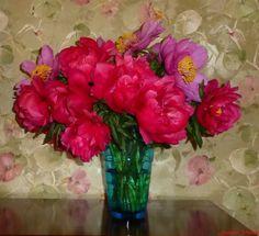 Photo : mes premières pivoines...,  France, Fleurs, Pivoines. Toutes les photos de jocelyne villoing sur L'Internaute