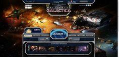 L'écran d'accueil - http://fr.bigpoint.com/battlestar-galactica-online/