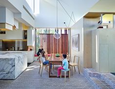 Converted worker's cottage -Aperture HouseI Cox Rayner Architects and Twofold Studio. Image Christopher Frederick Jones