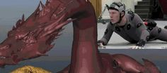 Benedict Cumberbatch performing Smaug… (haha this is a perfect gif.)