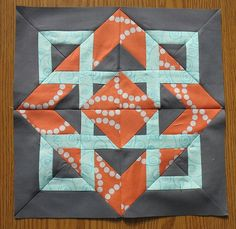 Love this quilt block.