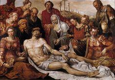 Lamentation on the Dead Christ - Maerten van Heemskerck
