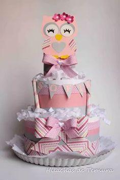 Torta Pañalera, Baby Shower, Nacimientos, Regalos P/ Bebe