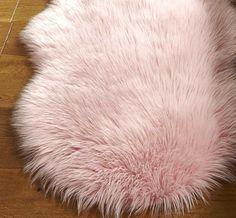 Faux Fur - Pink Rugs | Modern Rugs