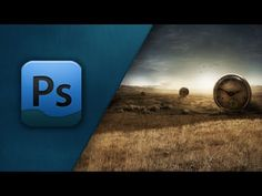 Adobe Photoshop Tutorial - Creating/Colouring A Landscape - FPST