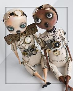 steampunk dolls   sTeAmPuNk art doll - Paula Nerhus on Esty