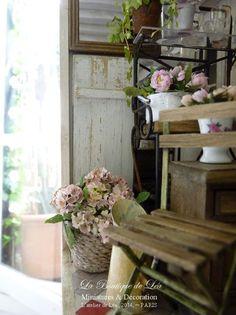 *♥ Atelier de Léa - Un Jour à la Campagne ♥*: Maison/magasin d'une fleuriste
