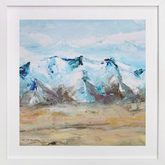 Blue Mountain by Laura Morris at minted.com
