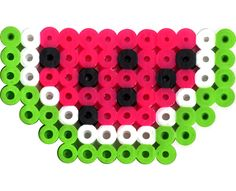 Perler Biggie Beads Watermelon - great for a picnic