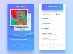 I recently tried to do a music app, inspired by spotify.  Hope you like it. You also can press 'L' if you like my shot or follow me if you want to find my upcoming work easily.   Pls check here - -...
