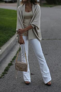 White jeans in the fall...