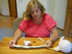 This is part 1 of how to crochet an oval rag rug for beginners 101