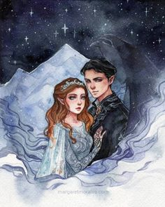 I finished! My version of Rhysand and Feyre, darling~ Thanks to all your book suggestions I discovered them! Now I can't wait to… A Court Of Wings And Ruin, A Court Of Mist And Fury, Throne Of Glass, Fantasy Books, Fantasy Art, Roses Book, Feyre And Rhysand, Sara J Maas, Sarah J Maas Books