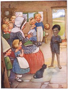 Tom and the Dame's School - The Water Babies by Charles Kingsley, 1915
