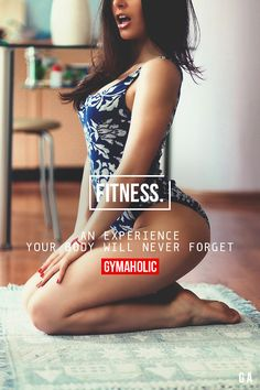gymaaholic:  Fitness An experience your body will never forget. http://www.gymaholic.co