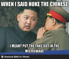 Nuke The Chinese... oops!