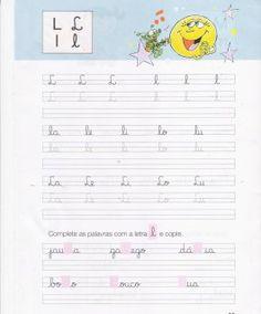 Letra Bonita – exercícios de caligrafia – Visite o novo blog: http://coisasdepro.blogspot.com.br/