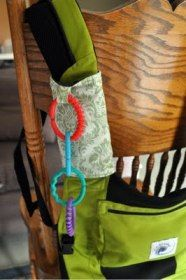 Tutorial: Drool pads for Ergo baby carriers · Sewing | CraftGossip.com