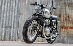 The XLCR inspired Blacktrack based on a HD Softail Fat Bob by Sacha Lakic Vintage Cafe, Vintage Bikes, San Petersburg, Ducati 1000, Ducati Monster 1000, Cb 450, Bmw 328, Custom Trikes, Bmw Scrambler