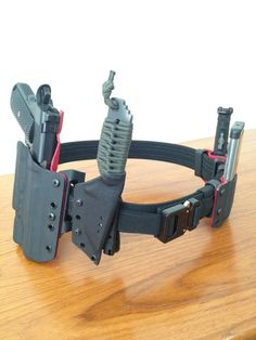 Manly Things - Expensive toys. Nighthawk, Ares Armor belt,...