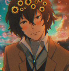 Dazai Bungou Stray Dogs, Stray Dogs Anime, Manga, Dog Icon, Dark Anime Guys, Cute Love Memes, Dazai Osamu, Cute Anime Pics, Aesthetic Anime