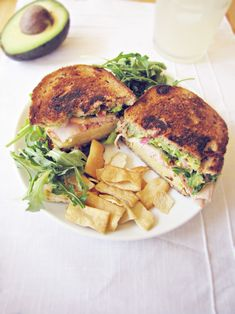 Grilled Cheese avocado and turkey sandwich. Made this tonight with ham and was amazing! Grilled Cheese Avocado, Grilled Sandwich, Avocado Bread, Grilled Cheeses, Turkey Sandwiches, Wrap Sandwiches, British Cheese, Cooking Recipes, Healthy Recipes