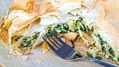 Spanakopita, cucina greca, le migliori ricette greche, ricette con pasta fillo