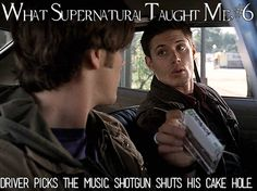 What Supernatural Taught Me 6