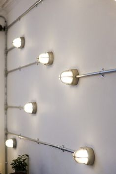 Loving these lights - they'd look great in an entertainment room #bathroom #lighting