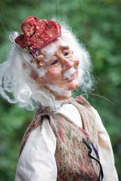 Fantastic marionette by Janet McKinstry