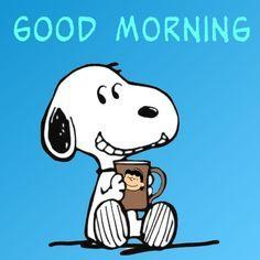 Morgen snoopy bilder guten guten morgen