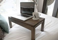 Great idea. A laptop desk you can use anywhere—on the couch, bed, or lounge chair