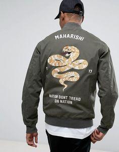 Maharishi Souvenir Jacket With Embroidery