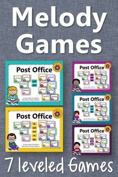 Fun elementary music melody games! Excellent resource and easy activity to add to lesson plans! Great informal assessment tool!