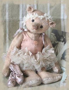 Vintage ballerina from years gone by~❥
