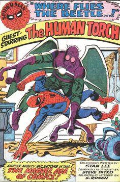 Steve Ditko - creater of Spider-man, Amazing Spider-Man #21