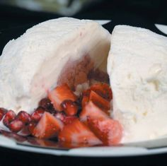 Lemon Pomegranate Ice Cream Bombes | Recipe | Joy of Kosher with Jamie Geller