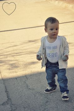 baby fashion for a nice - early autumn - day