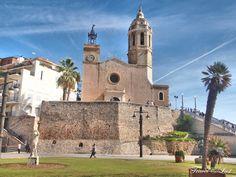 Sitges - jewel of the mediterranean #sitges #spain #mediterranean