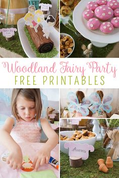 Woodland Fairy Party with Free Printables - Yellow Bliss Road