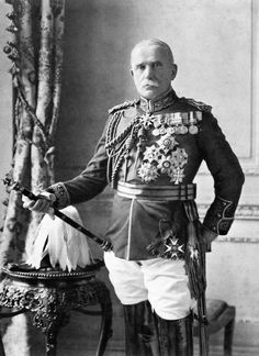 Field Marshal Sir John French, 1st Earl of Ypres, Commander in Chief, British Expeditionary Force in Farnce, 1914.