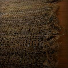 textile cocoon harue nishikawa hemp x  tle x silk