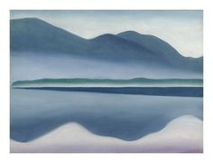 Modern Nature: Georgia OKeeffe had a strong connection with Lake George. This painting is part of The Hyde Collection in Glens Falls, NY