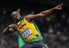 Usain Bolt, Yohan Blake and David Ruishda could face Olympics ban Usain Bolt Pose, Rugby, Yohan Blake, Nba, Olympic Gold Medals, Olympic Committee, Barefoot Running, Fastest Man, Rio De Janeiro