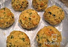 Tiroli zsemlegombóc Hungarian Recipes, Food Hacks, Food Tips, Meat Recipes, Starters, Baked Potato, Entrees, Side Dishes, Muffin